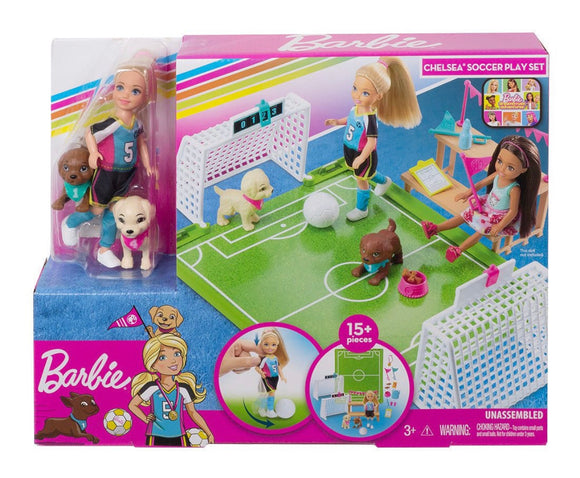 BRB CHELSEA SOCCER PLAYSET