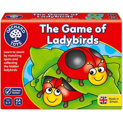ORCHARD TOYS LADYBIRD GAME