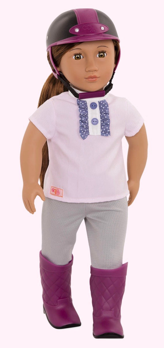 OUR GENERATION ELLIANA RIDING DOLL