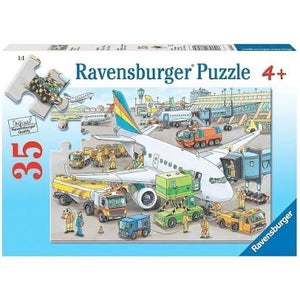 PUZZLE 35PC BUSY AIRPORT