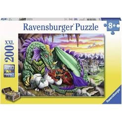 PUZZLE 200PC QUEEN OF THE DRAGONS