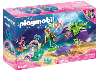 PLAYMOBIL 70099 PEARL  WITH MANTA RAY