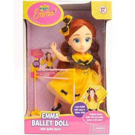 THE WIGGLES EMMA BALLET DOLL