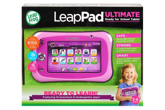 L/F LEAP PAD ULTIMATE W BONUS D/LOAD PNK