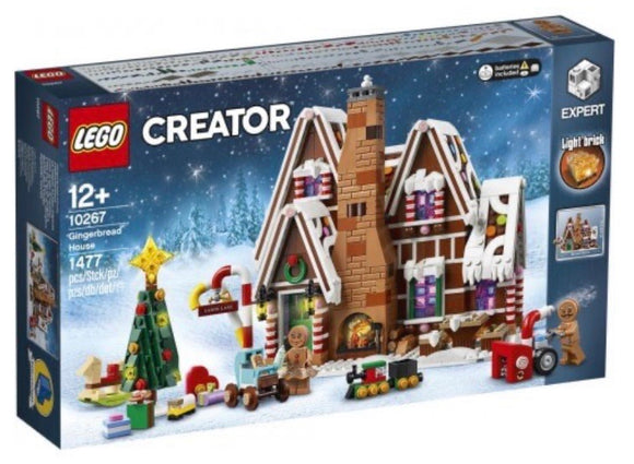 LEGO 10267 C/EXPERT GINGERBREAD HOUSE