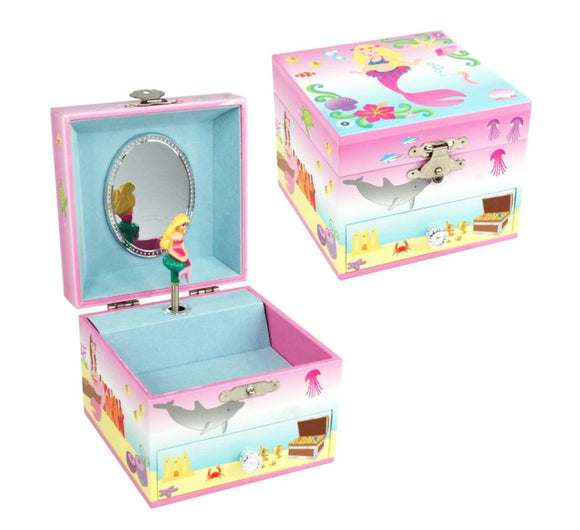 P/POP MYSTIC MERMAID SM MUSIC BOX PINK