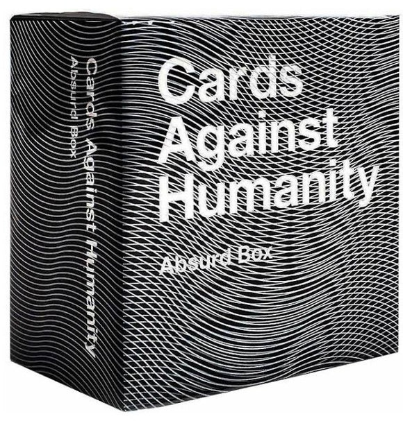 GAME CARDS AGAINST HUMANITY ABSURD BOX