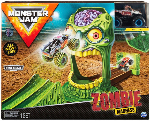 MONSTER JAM 1:64 PLAYSET ASST