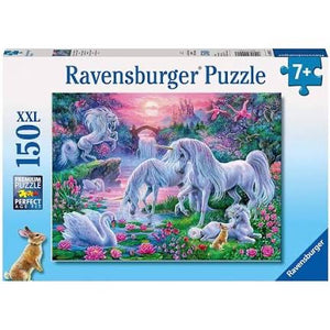 PUZZLE 150PC UNICORNS AT SUNSET