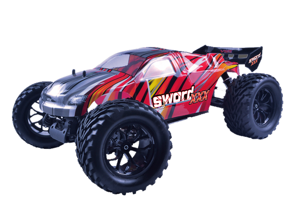 R/C 1:10 4WD SWORD XXX RED