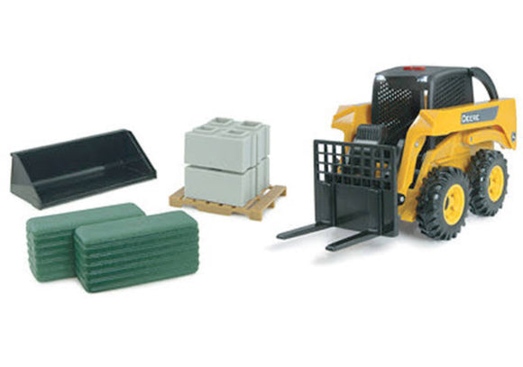 JD 1:16 BIG FARM JD SKIDSTEER SET