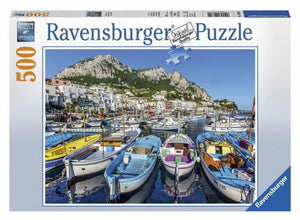 PUZZLE 500PC COLORFUL MARINA