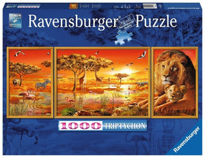 PUZZLE 1000PC AFRICAN MAJESTY