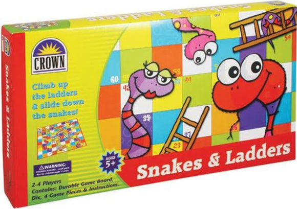 GAME SNAKES & LADDERS CROWN