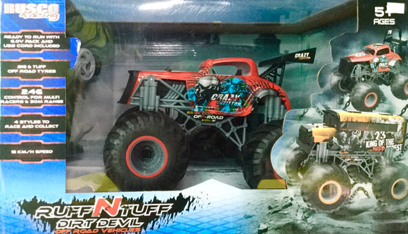 R/C RUSCO ROUGH N TOUGH CRAZY SKELETON