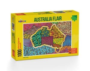 PUZZLE 1000PC AUSTRALIAN FLAIR