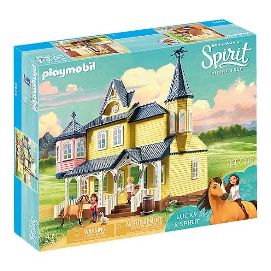 PLAYMOBIL SPIRIT LUCKY HAPPY HOME