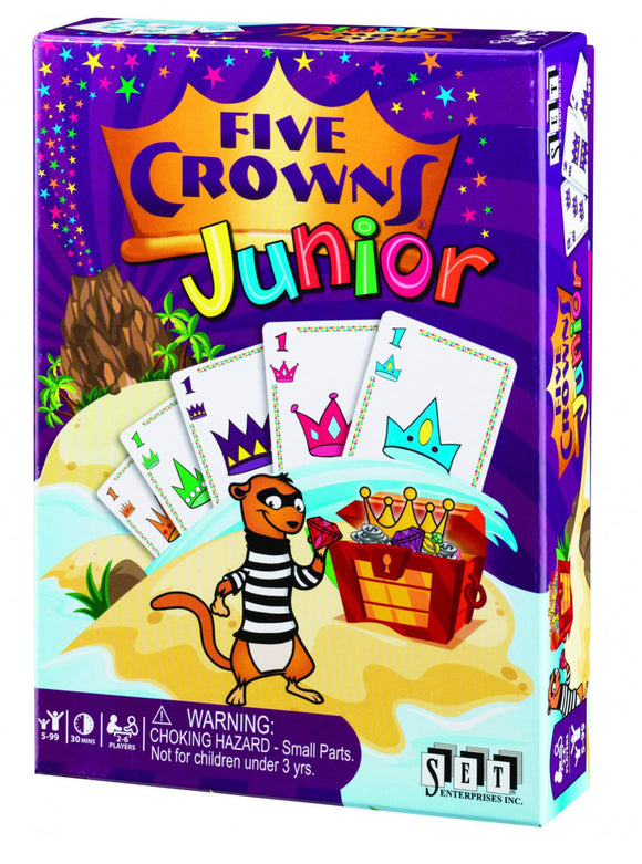 CARD GAME FIVE CROWNS JUNIOR