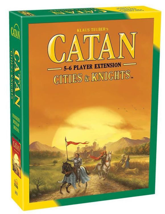 CATAN CITIES KNIGHT EXTENSION 5-6 PLAYER