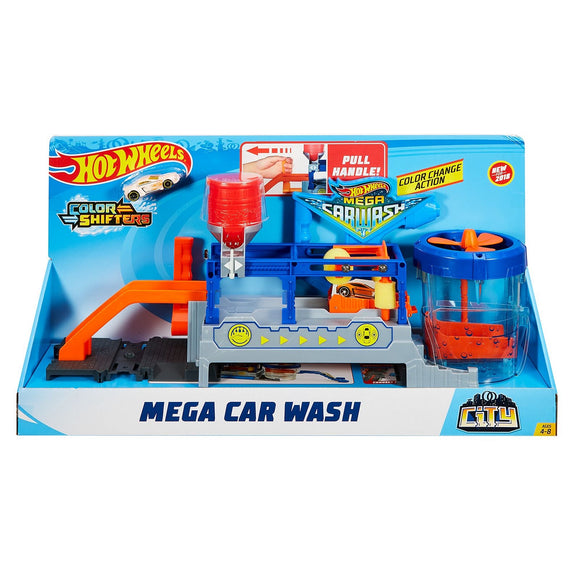 H/W MEGA CAR WASH PLAYSET