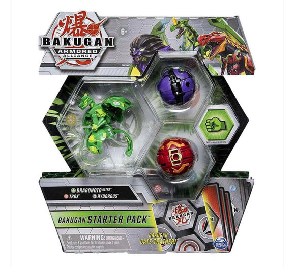 BAKUGAN ARMORED ALLIANCE STARTER PACK
