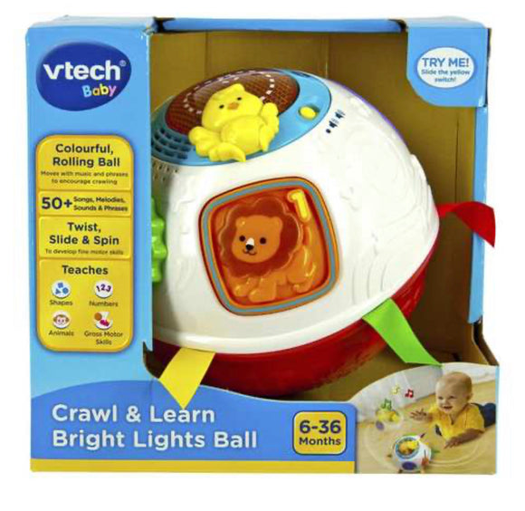 VTECH CRAWL & LEARN BRIGHT LIGHT BALL 19