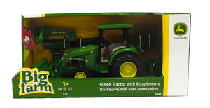 JD 4066R TRACTOR W LOADER