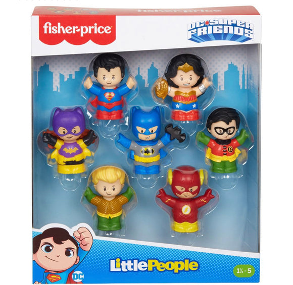 F/P LP DC SUPER FRIENDS 7 PK FIGURES