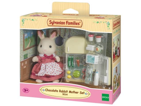 SYL/F CHOCOLATE RABBIT MOTHER SET