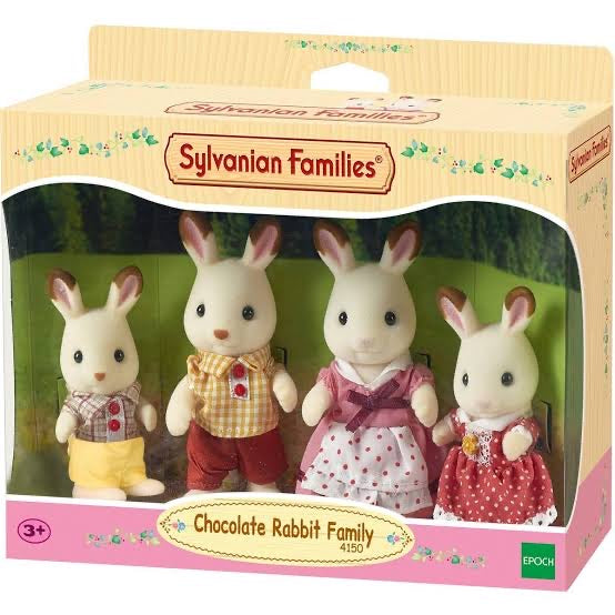 SYL/F CHOCOLATE RABBIT FAMILY