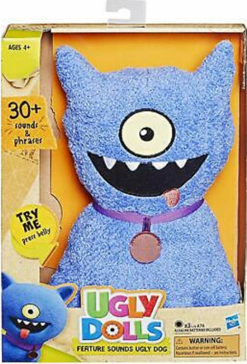 UGD UGLY DOLLS FEATURE SOUNDS PLUSH AST
