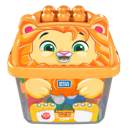 MEGA BLOKS ANIMAL BUCKETS ASTD