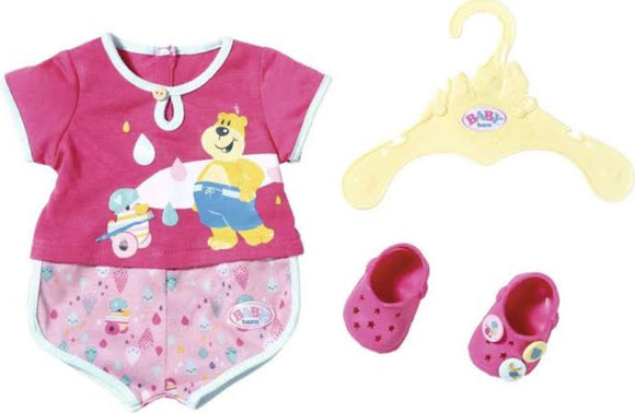 BB BABY  BORN BATH SHORTY PYJAMA W SHOES
