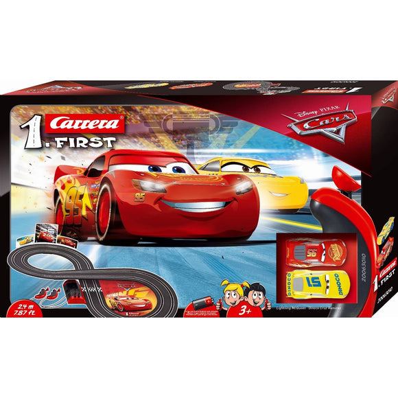CARRERA 1ST CARS 3 SLOT SET