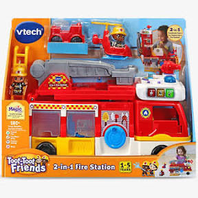 VTECH  TOOT TOOT 2 IN 1 FIRE STATION