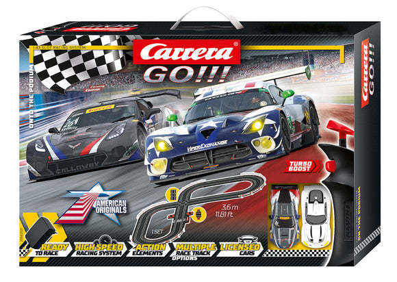 CARRERA ONTO THE PODIUM SLOT CAR SET