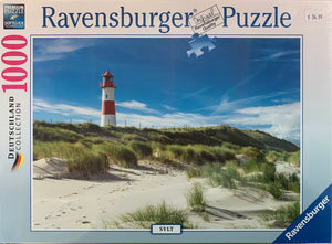 PUZZLE 1000PC LIGHTHOUSE IN SYLT