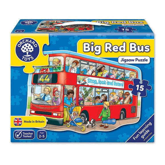 ORCHARD PUZZLE BIG RED BUS