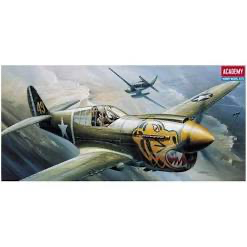 ACADEMY 1:72 P-40E FIGHTER