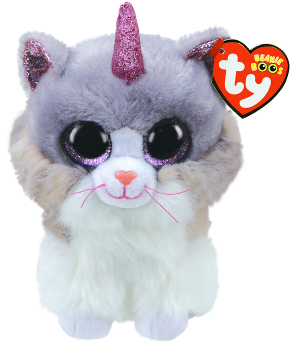 BEANIE BOO REG ASHER CAT WITH HORN