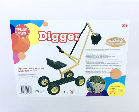 MOBILE DIGGER ON WHEELS