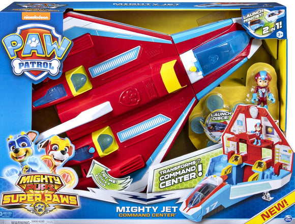 PAW PATROL MIGHTY PUPS JET COMMAND CENTR