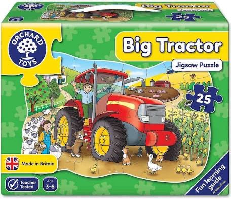 ORCHARD PUZZLE BIG TRACTOR