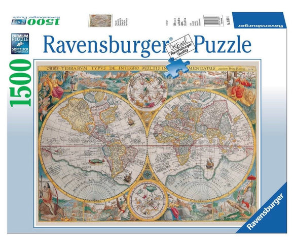 PUZZLE 1500PC HISTORICAL MAP