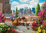PUZZLE 500PC LARGE ROOFTOP GARDEN