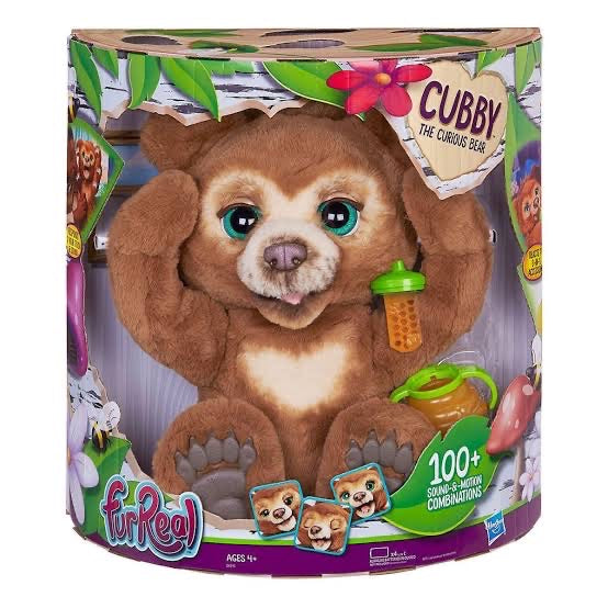 FRR FUR REAL CUBBY THE CURIOUS BEAR