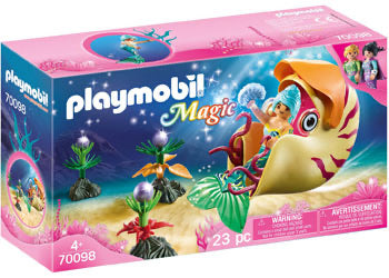 PLAYMOBIL 70098 MERMAID WITH SEA SNAIL