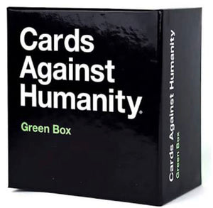 GAME CARDS AGAINST HUMANITY GREEN BOX
