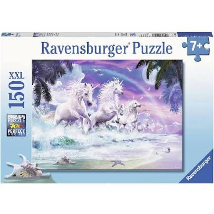 PUZZLE 150PC UNICORNS ON THE BEACH