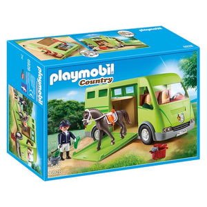 PLAYMOBIL 6928 COUNTRY HORSE TRANSPORTER